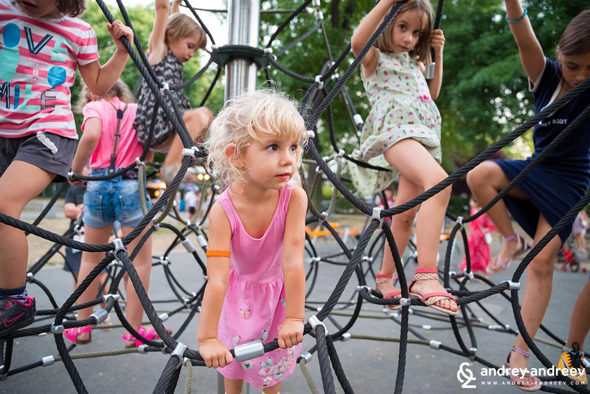 Детските площадки са важна забележителност във всеки град