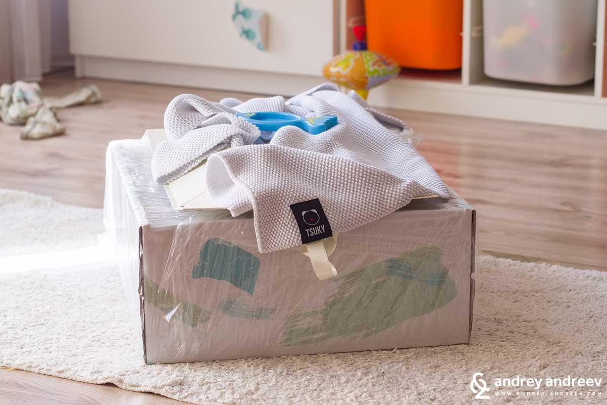 Прекрасното одеялце с марка Tsuky