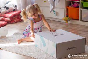 Ани е нетърпелива да отвори Tsuky Baby Box