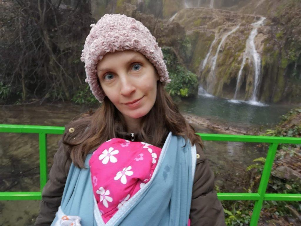 С Адрианка на Крушунските водопади