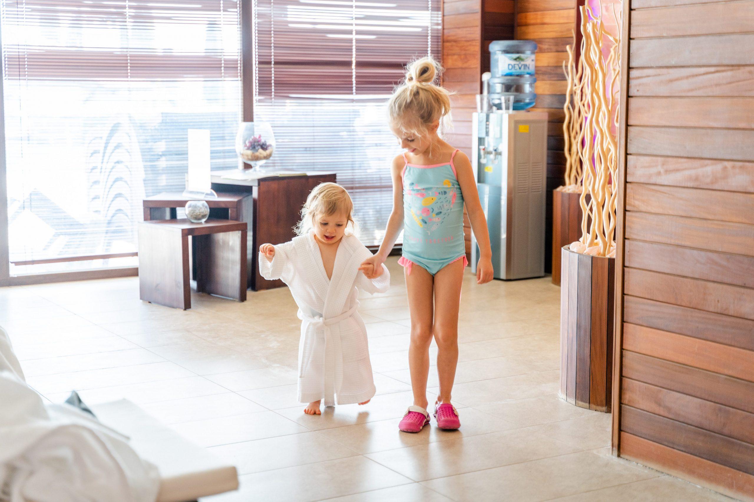 Ани и Ади в спа центъра на Ува Нестум