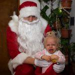 Ани пищи в Дядо Коледа