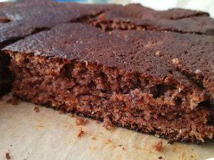 Безглутенов кекс с ягоди и какао