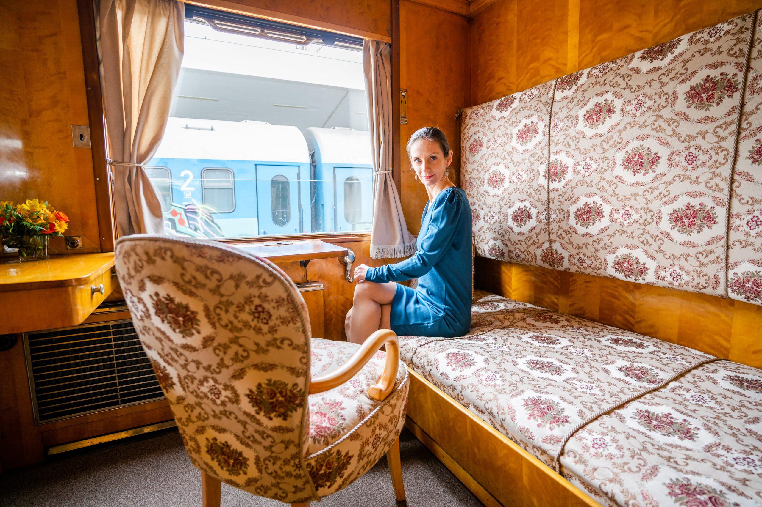 Обяд във влака на Цар Борис III - едно от любимите ми преживявания за 2020 г, в партньорство с Diners Club